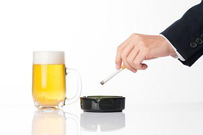 お酒とたばこ